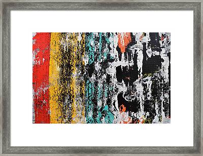 Part Of Pulsations 3 Framed Print by Sumit Mehndiratta