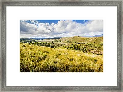 Parting Creek Regional Reserve Tasmania Framed Print by Jorgo Photography - Wall Art Gallery