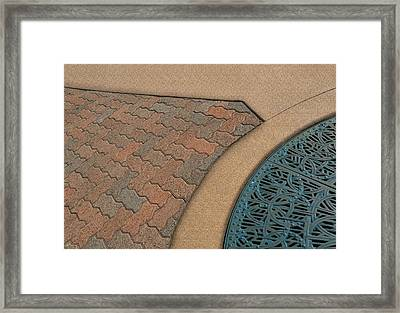 Partitioned Framed Print by Paul Wear