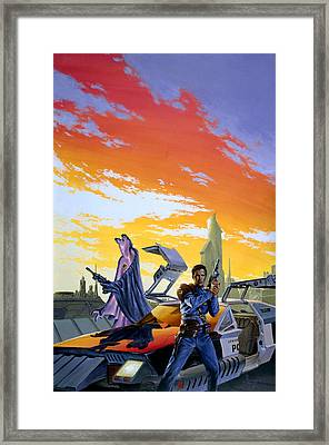 Partners  Framed Print by Richard Hescox