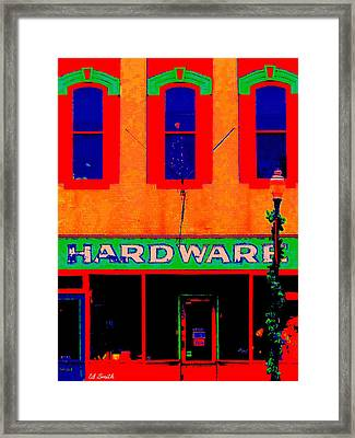 Parts For People Framed Print by Ed Smith