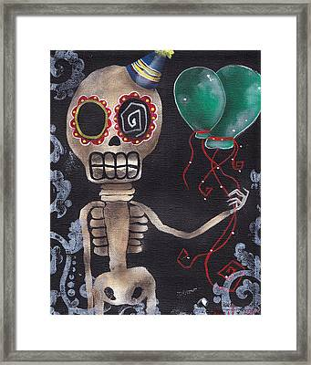 Party Killer Framed Print by  Abril Andrade Griffith