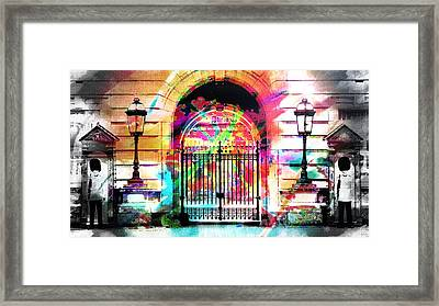 Party To Buckingham Palace Framed Print by Jean Francois Gil