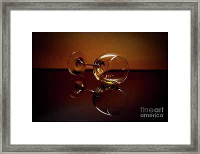 Partys Over Framed Print by Arnie Goldstein