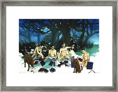 Passages  Framed Print by Rene Capone