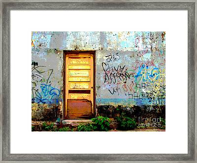 Passersby By Darian Day Framed Print by Mexicolors Art Photography