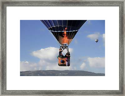 Passing By Framed Print by Donna Kennedy