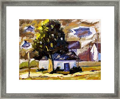 Passing Storm Framed Print by Charlie Spear