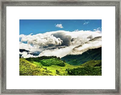 Passing Storm Framed Print by Daniel Dean