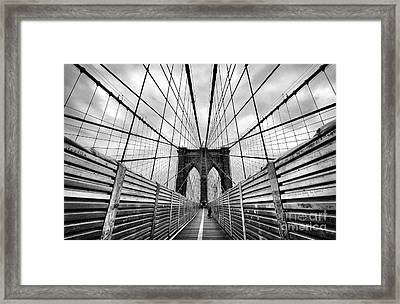 Passing The Future On Your Way There Framed Print by John Farnan