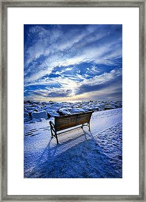 Passing The Time Away Framed Print by Phil Koch