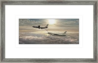 Passing The Torch Framed Print by Mark McIntosh