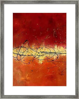 Passion Framed Print by Darlene Keeffe