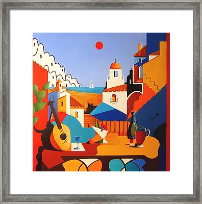 Passion For Life Framed Print by Joe Gilronan