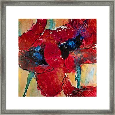 Passion I Framed Print by Trish McKinney