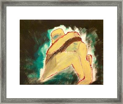 Passion Illuminated Framed Print by Rob Spencer