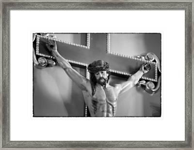 Passion - Mission San Jose Framed Print by Stephen Stookey