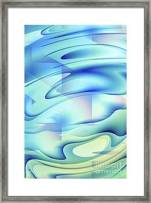 Pastel Flow Framed Print by John Edwards