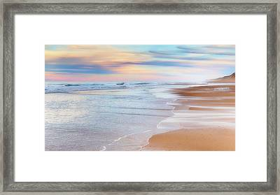 Pastel Sunset Framed Print by Bill Wakeley