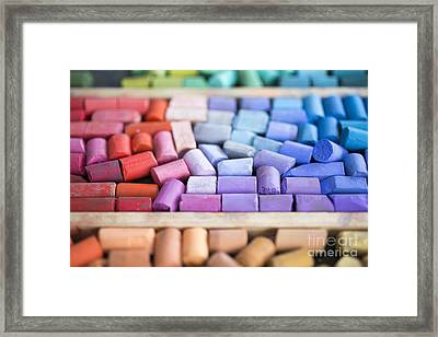 Pastels Framed Print by Edward Fielding