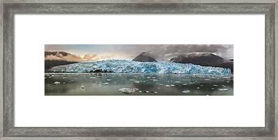 Patagonia - Glacier Amalia Framed Print by Michael Jurek
