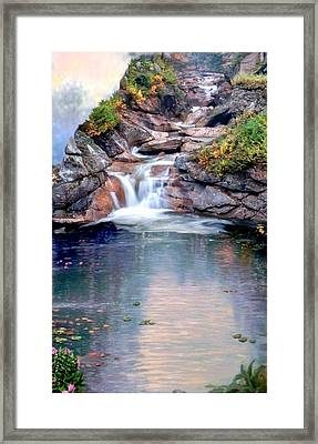 Path Least Followed Sec 3 Framed Print by Ron Chambers