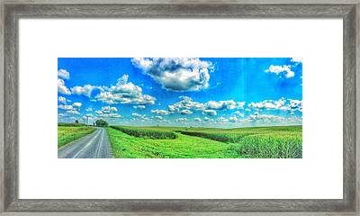 Path Less Traveled  Framed Print by Jame Hayes