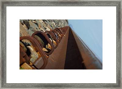 Path Of Life Framed Print by Chereece Smyser