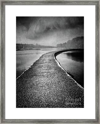 Path To Beyond 4x3 Framed Print by Edward Fielding