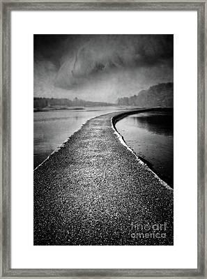 Path To Beyond II Framed Print by Edward Fielding