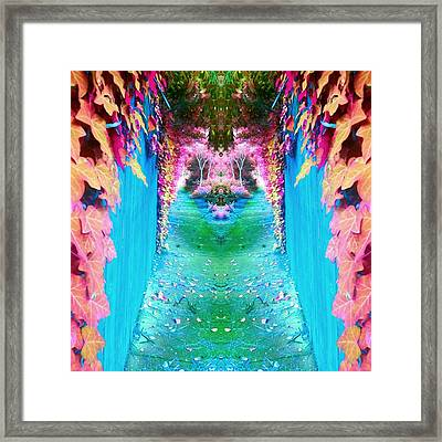 Path To Eden Framed Print by Kimmy Hutchins