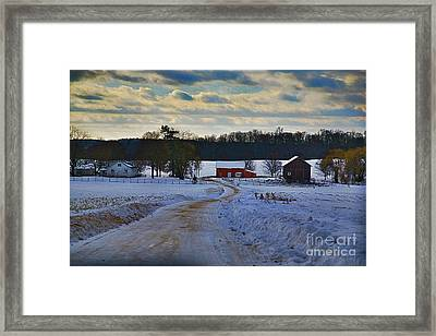 Path Ways Framed Print by Robert Pearson