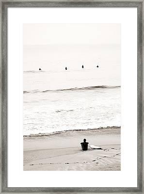 Patience Framed Print by Lisa Kindberg