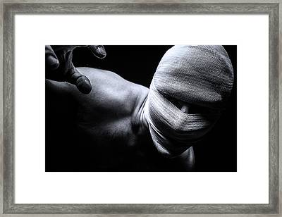 Patient Framed Print by Seerocka