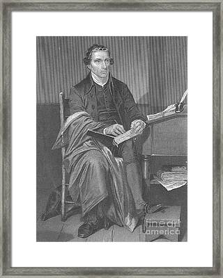 Patrick Henry, American Patriot Framed Print by Science Source