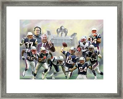 Patriot Perfection Framed Print by Blackwater Studio