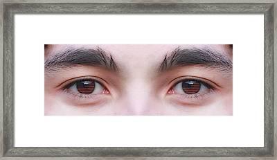 Patriotic Eyes Framed Print by James BO  Insogna