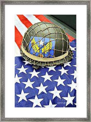 Patriotic Framed Print by Richard Allen