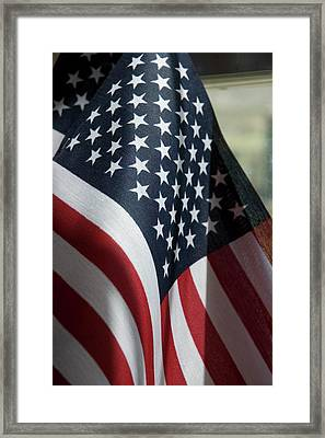 Patriotism Framed Print by Jerry McElroy