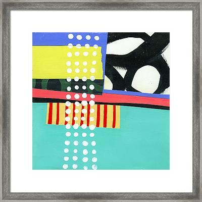 Pattern Grid #2 Framed Print by Jane Davies