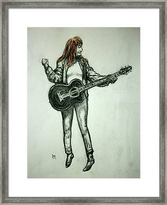 Patti Framed Print by Pete Maier