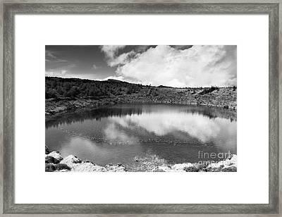 Pau-pique Lake Framed Print by Gaspar Avila