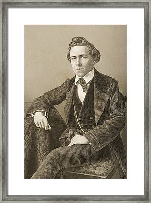 Paul Charles Morphy, 1837-1884 Framed Print by Vintage Design Pics