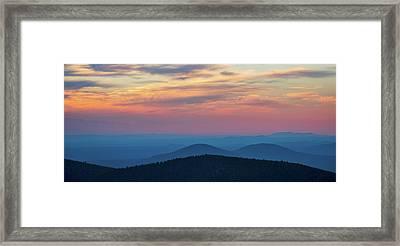 Paulina Panorama Framed Print by Christian Heeb