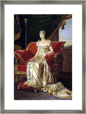 Pauline Bonaparte Framed Print by Marie