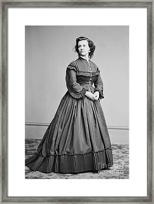 Pauline Cushman (1833-1893) Framed Print by Granger
