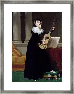 Pauline Duchambge Framed Print by Robert