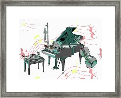 Pause Framed Print by Manfred Lutzius