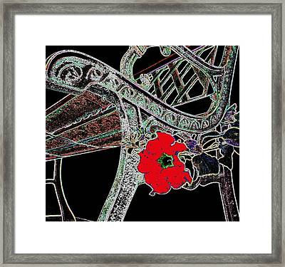 Pause To Contemplate 1 Framed Print by Will Borden