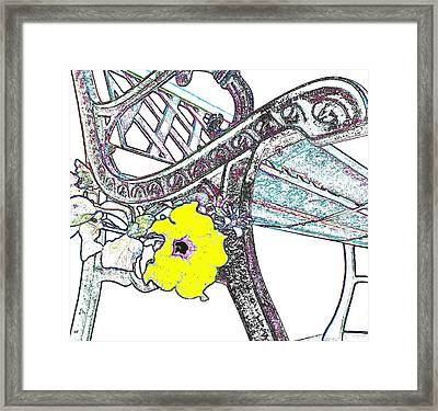 Pause To Contemplate 2 Framed Print by Will Borden